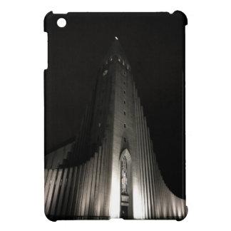 Hallgrimskirkja church at night case for the iPad mini