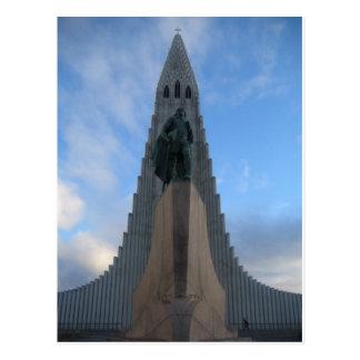 Hallgrímskirkja, Reykjavik, Islandia Tarjetas Postales