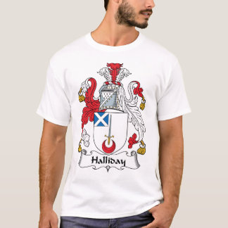 Halliday Family Crest T-Shirt