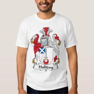 Halliday Family Crest T-shirts