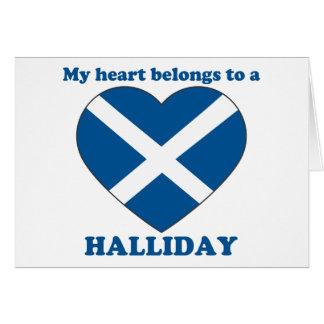 Halliday Felicitaciones