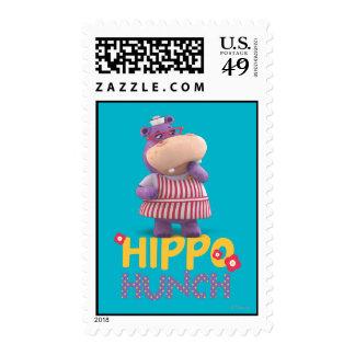 Hallie - corazonada del hipopótamo estampillas