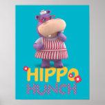 Hallie - corazonada del hipopótamo impresiones