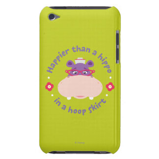 Hallie -Happier Than a Hippo in a Hoop Skirt iPod Touch Case-Mate Case
