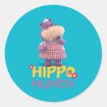Hallie - Hippo Hunch Stickers