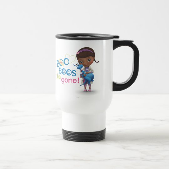 Hallie Holding Stuffy - Boo Boos Be Gone Travel Mug
