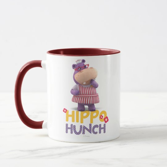 Hallie the Happy Hippo Hunch Mug