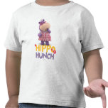 Hallie the Happy Hippo Hunch T-shirt