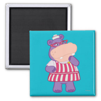 Hallie the Happy Hippo Refrigerator Magnets