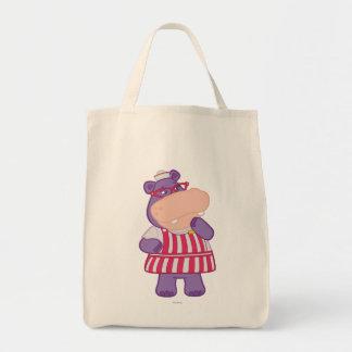 Hallie the Happy Hippo Tote Bag