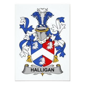 Halligan Family Crest Card