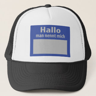 hallo man nennt mich icon trucker hat