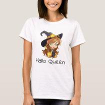 Hallo Queen | Halloween T-Shirt