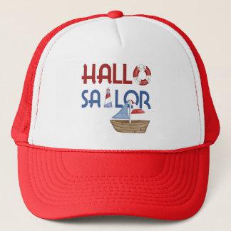 Hallo Sailor Trucker Hat