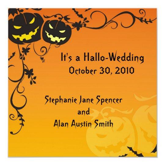 Hallo-Wedding Invitation