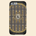 Hallonaye Elegant Monogram Tough iPhone 6 Case