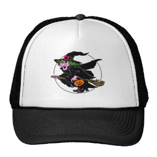 Hallooween Witch and Moon Hats