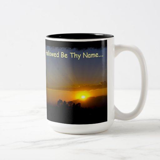 Hallowed Be Thy Name Two-Tone Coffee Mug
