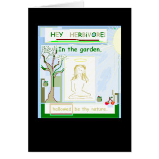 Hallowed Greeting Card