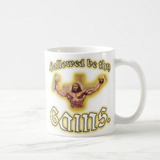 """""""Hallowed sea taza de café de Jesús del músculo de"""