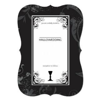 Hallowedding Card