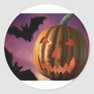 hallowee Items Classic Round Sticker