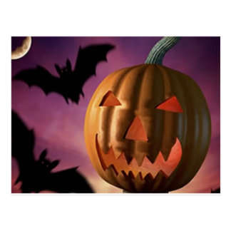 hallowee Items Postcard