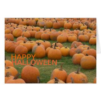 Hallowee Pumpkins Card