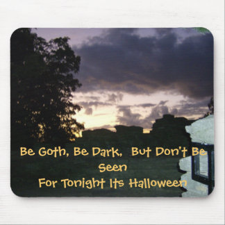 Halloweeen Night of Darkness Mouse Pad