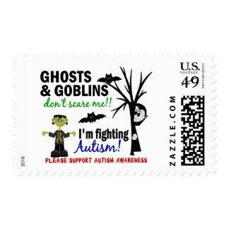 Halloween 1 Autism Stamp