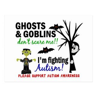 Halloween 1 Autism Post Cards