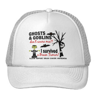 Halloween 1 Brain Tumor Survivor Mesh Hat