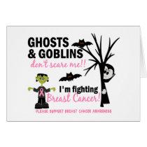 Halloween 1 Breast Cancer Warrior Card