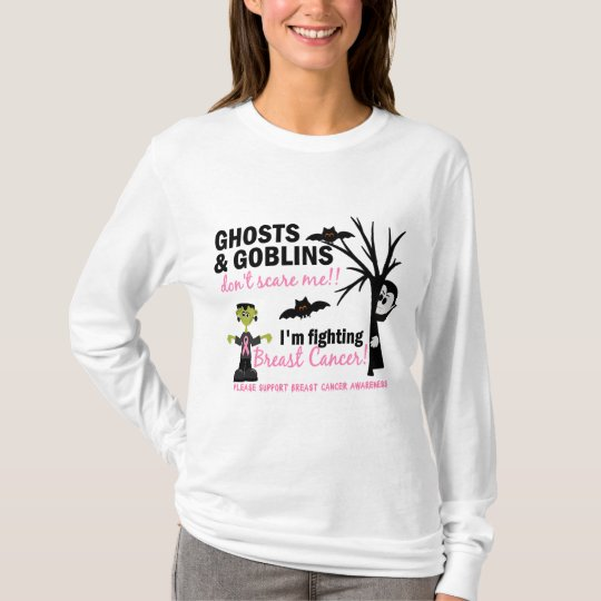 Halloween 1 Breast Cancer Warrior T-Shirt
