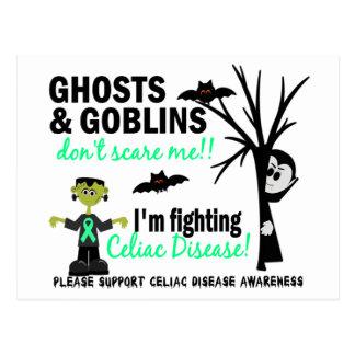 Halloween 1 Celiac Disease Warrior Postcard
