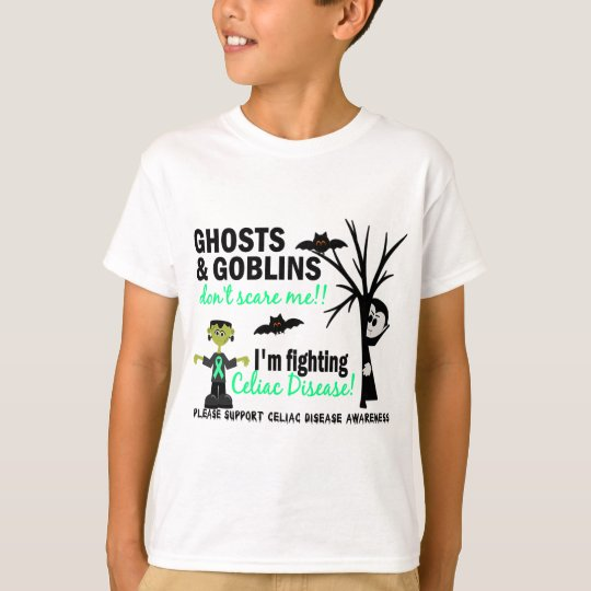 Halloween 1 Celiac Disease Warrior T-Shirt