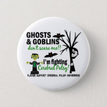 Halloween 1 Cerebral Palsy Warrior Button
