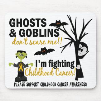 Halloween 1 Childhood Cancer Warrior Mousepad