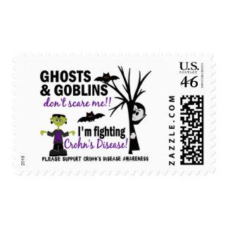 Halloween 1 Crohn s Disease Warrior Stamps