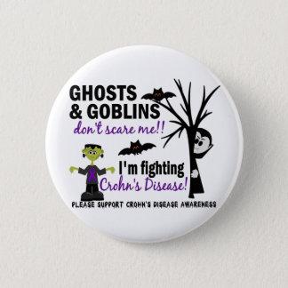 Halloween 1 Crohn's Disease Warrior Button