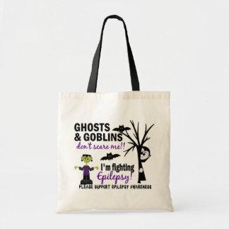 Halloween 1 Epilepsy Warrior Budget Tote Bag