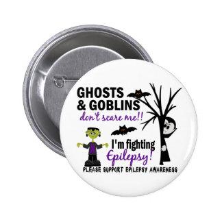 Halloween 1 Epilepsy Warrior Pinback Button
