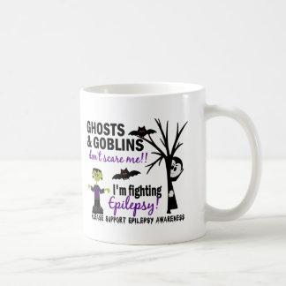 Halloween 1 Epilepsy Warrior Classic White Coffee Mug