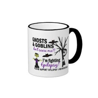 Halloween 1 Epilepsy Warrior Ringer Coffee Mug