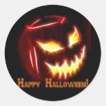 Halloween 1 - ¡Feliz Halloween! Pegatina Redonda