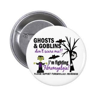 Halloween 1 Fibromyalgia Warrior Buttons
