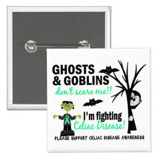 Halloween 1 guerrero de la enfermedad celiaca pins