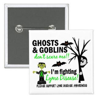 Halloween 1 guerrero de la enfermedad de Lyme Pins