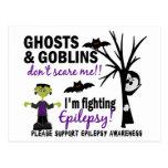 Halloween 1 guerrero de la epilepsia postales