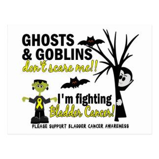 Halloween 1 guerrero del cáncer de vejiga postal